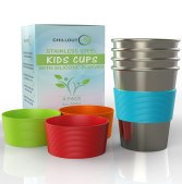 Stainless Steel Dinnerware For Kids - Stainless Steel Cups for Kids and Toddlers