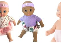 Non Toxic Baby Doll - Natural Rubber Baby Doll