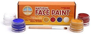 Non Toxic Face Paint For Kids - Natural Earth Paint Natural Face Paint Kit