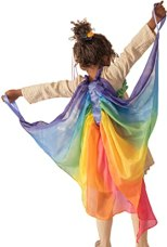 Non Toxic Halloween Costumes For Kids - Sarah's Silks Rainbow Fairy Wings