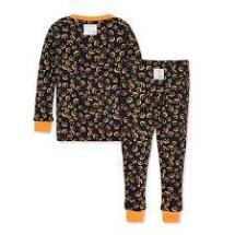 Non Toxic Halloween Pajamas - Burt's Bees Organic Cotton Pajamas Laterns In The Dark