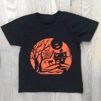 Non Toxic Halloween Shirt For Kids - WalkingCanvasTees Organic Cotton Halloween Tee