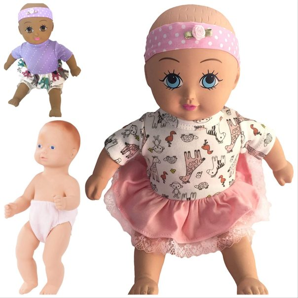Non Toxic Natural Rubber Baby Dolls