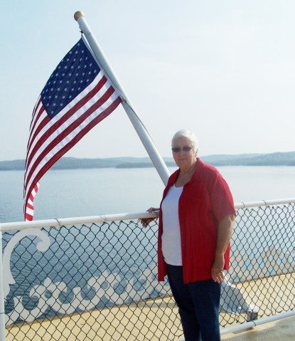 15) Edna aboard the Showboat Branson Bell