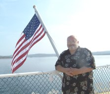 16) Bill aboard the Showboat Branson Bell