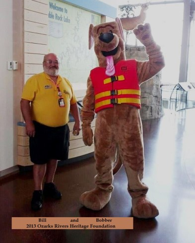 3) Bobber (Bruce) and Bill at the Dewey Short Visitors Center