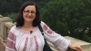 Alina Giurgiu, ghid de turism. FOTO Arhiva Personală