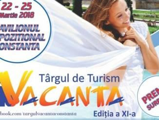 """Târgul de Turism """"Vacanța"""" de la Constanța are loc în luna martie 2018"""