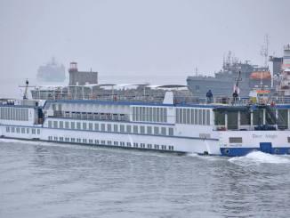 River Adagio, nava fluvială de croazieră. FOTO Ovidiu Oprea