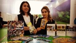România este promovată la Târgul de Turism d ela Chișinău de Mistral Tours. FOTO Mistral Tours