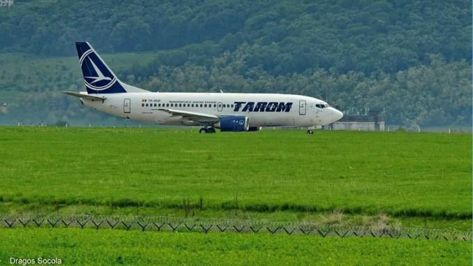 Aeronavă TAROM. FOTO Facebook/Tarom / Dragoș Socola