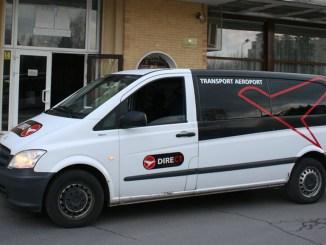 Microbuzul Direct Aeroport e gata pentru excursie. FOTO Direct Aeroport