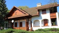 Casa de vânătoare a lui Nicolae Ceaușescu din Olt. FOTO Adrian Boioglu