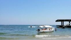 Un barcagiu a fost amendat de echipele de control. FOTO Ministerul Turismului