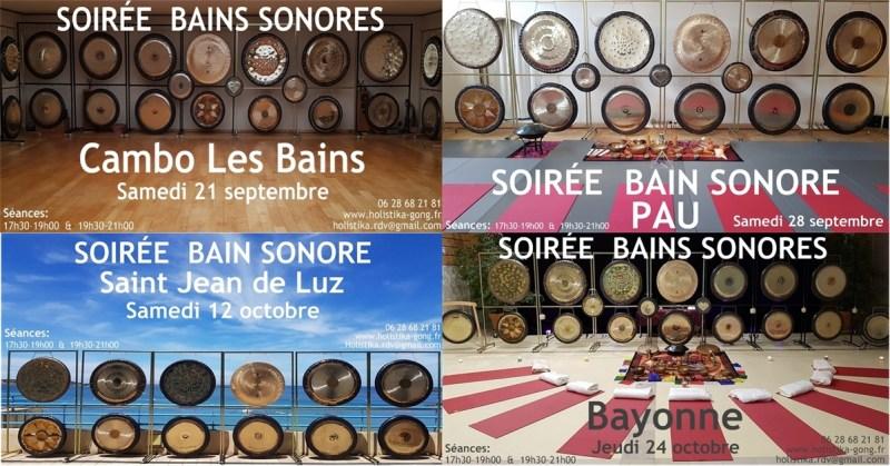 Bains Sonores vibratoires rentrée 2019-2020