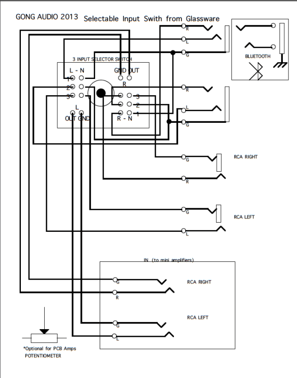 home audio speaker wiring diagram