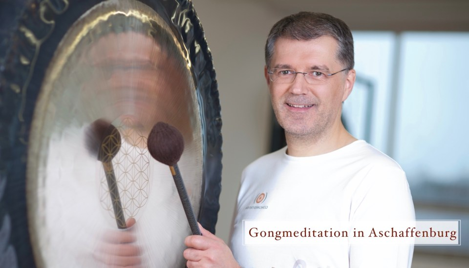 Gongmeditation in Aschaffenburg