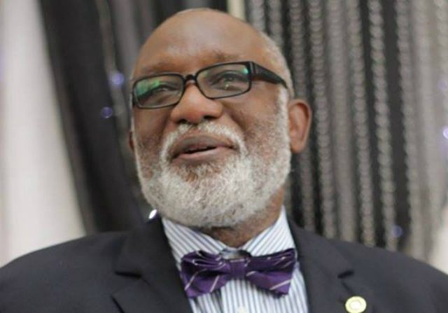 Rotimi Akeredolu (SAN) governor of Ondo state...Ondo Football Agency mismanages monies for League opener