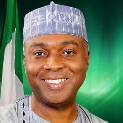 Senator Bukola Saraki President of Nigerian Senate...the maximum ruler of Kwara State