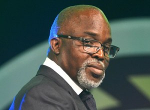 Amaju Pinnick...deaf and dumb to ongoings in the national team camp