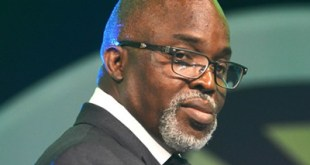 Amaju Pinnick former NFF President...three docked