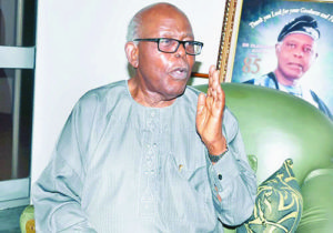 Pa Olaniwun Ajayi...firm in his opinions on the nation and its people