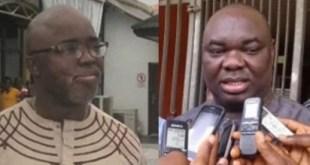 Chris Giwa and Amaju Pinnick...fake news, NFF crisis