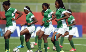 Super Falcons of Nigeria...playing for the nation on credit