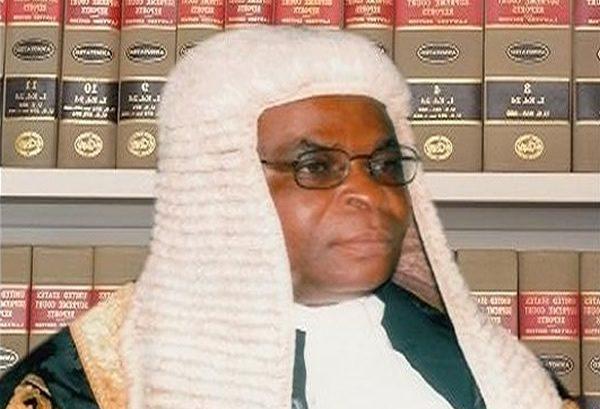 Justice Walter Onnoghen Chief Justice of Nigeria...appoints Hadizatu Mustapha Supreme Court Registrar