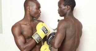 "Oto ""Joe Boy"" Joseph boxing another opponent"