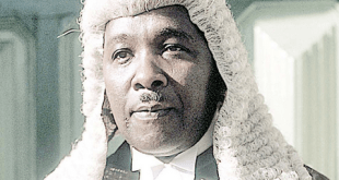 Justice Adeniyi Ademola...to resume back to work