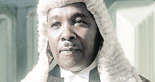 Justice Adeniyi Ademola...to resume back to work