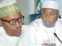 Muhammadu Buhari and Dr Bukola Saraki...you have to resign or face the available consequences
