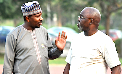 Shehu Dikko and Amaju Pinnick...we have to keep planning to fight them