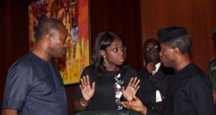 Kemi Adeosun Nigeria's Finance Minister...announced a lower February allocation