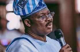 Former Governor Of Oyo State Abiola Ajumobi