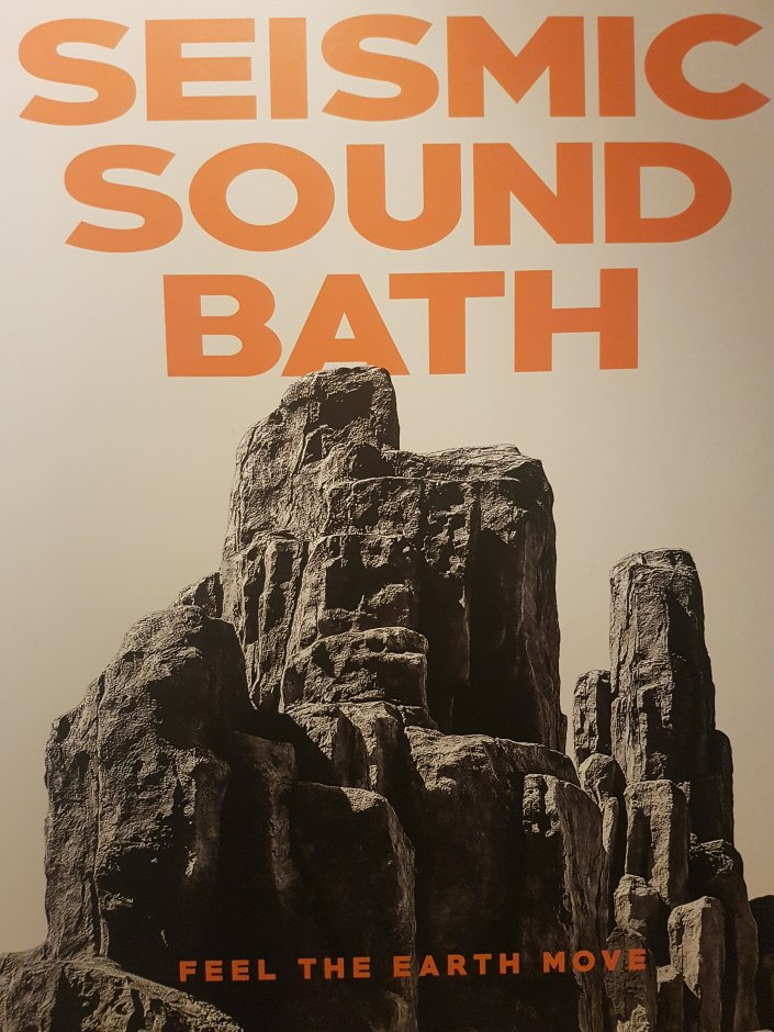 Seismic Sound Bath poster