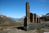 Fjarðá, við lok gönguleiðar, horft yfir Seyðisfjörð
