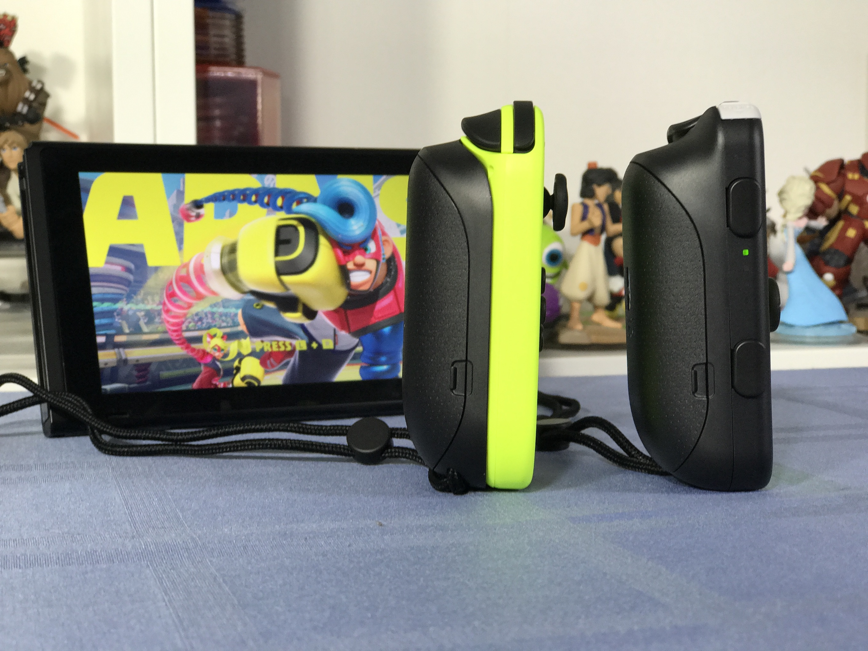 Neon Yellow Joy ConJoy Con Battery Pack Another