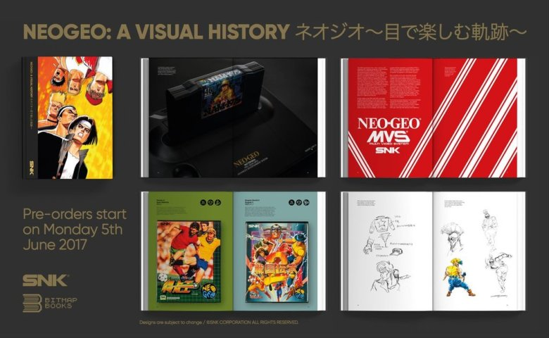 Neogeo: A Visual History hardcover book on the way | PerezStart