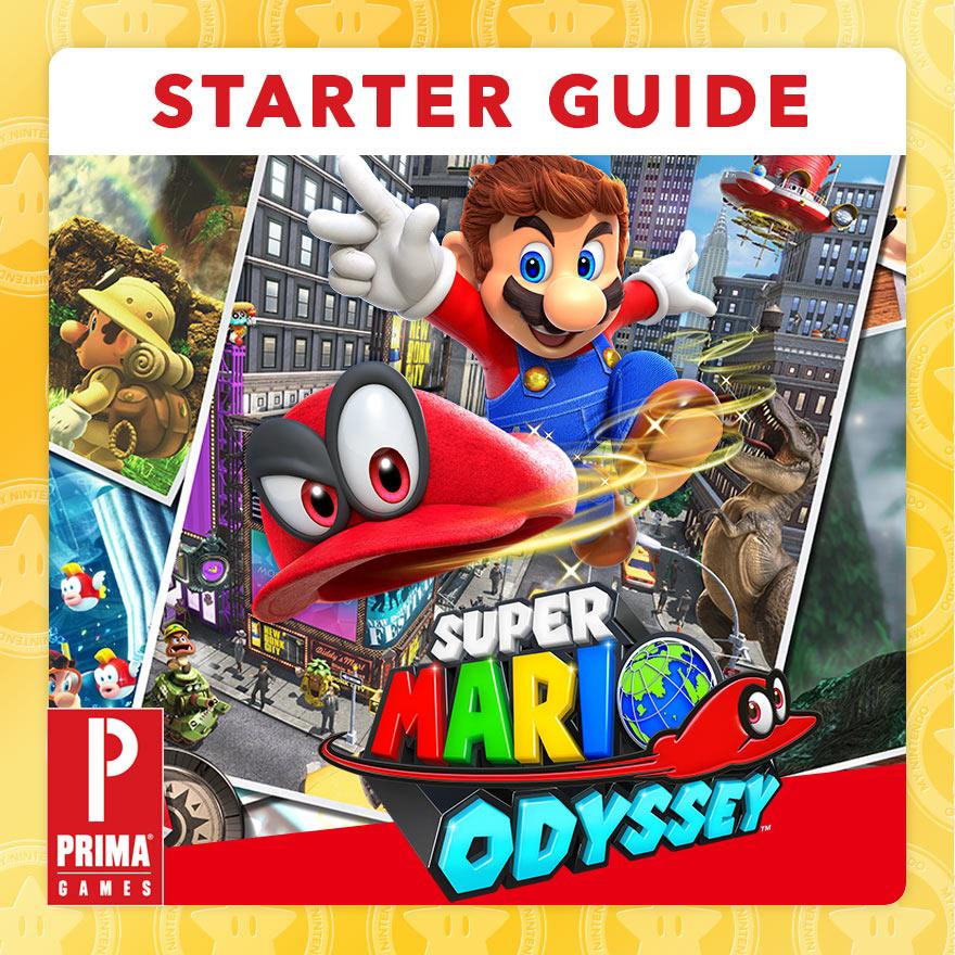 Super Mario Odyssey Malvorlagen