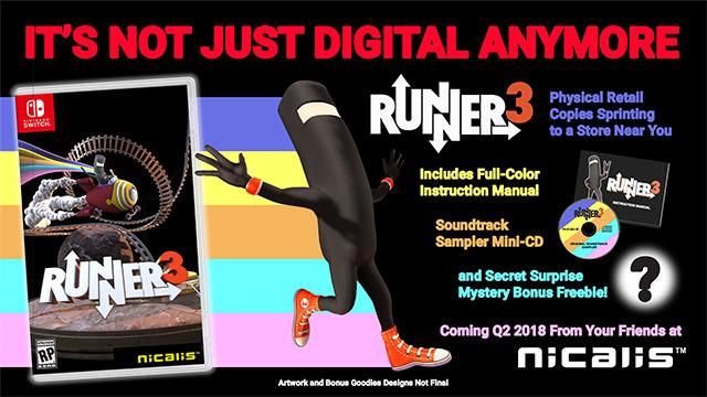 Runner3 – cover art, launch edition detailed | PerezStart