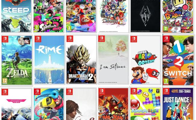 Nintendo Uk Introducing The Top 50 Nintendo Switch Games
