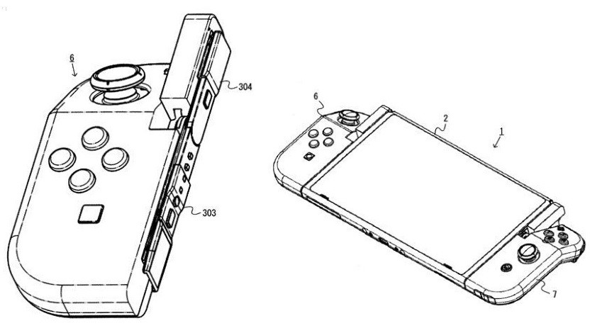 Flipboard: New patent from Nintendo showcases a hinged Joy-Con