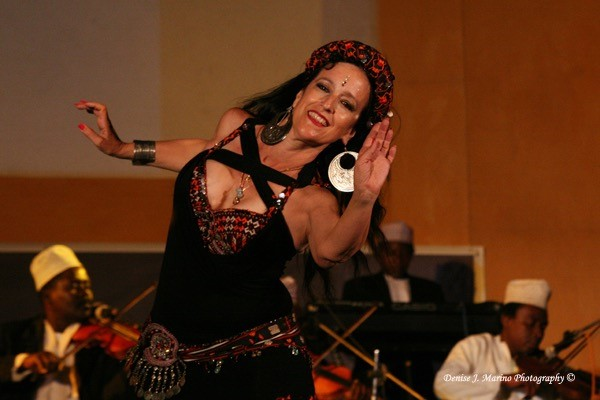 Belly Dancer Tamalyn Dallal (photo credit: Denise J. Marino Photography)