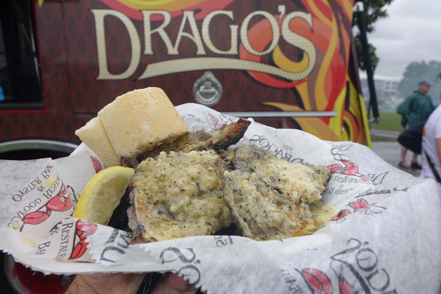 Don't miss the Charbroiled Oysters from Drago's.