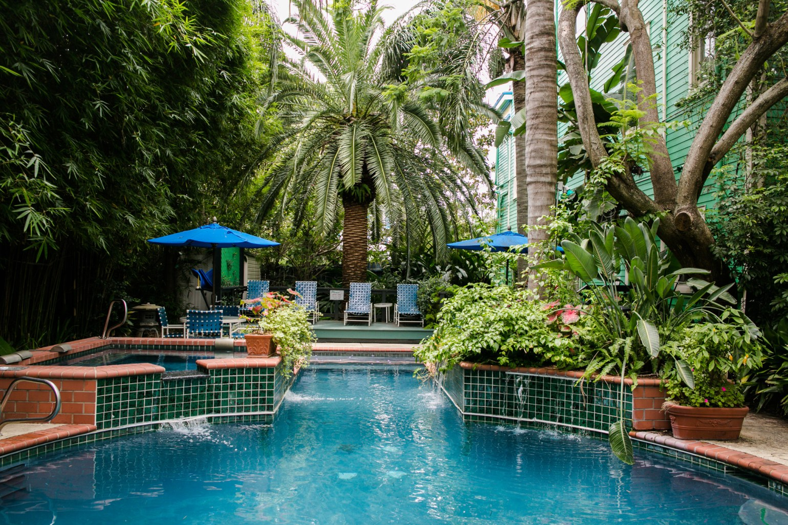 Romantic LGBT Courtyard Bend and Breakfasts