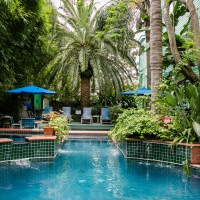 Romantic LGBTQ Courtyard Bend and Breakfasts
