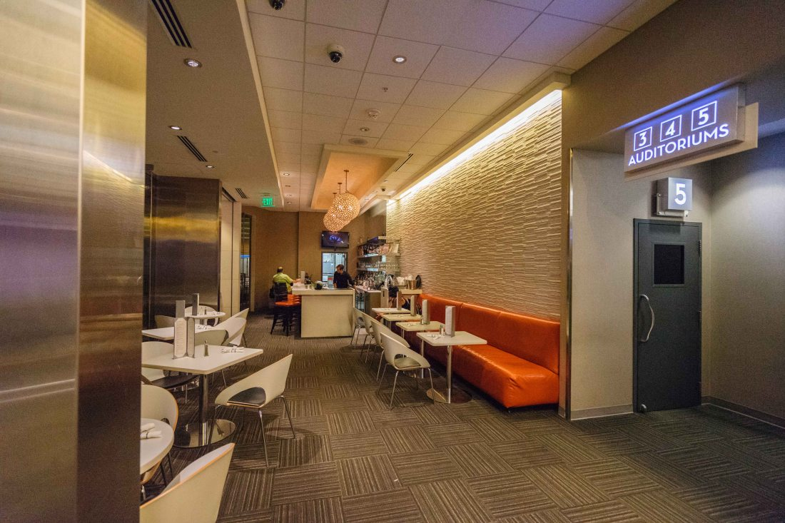 Enjoy small plates, wine by the glass, craft cocktails and a weekday happy hour at Gusto, the cafe and bar inside the Theatres at Canal Place.