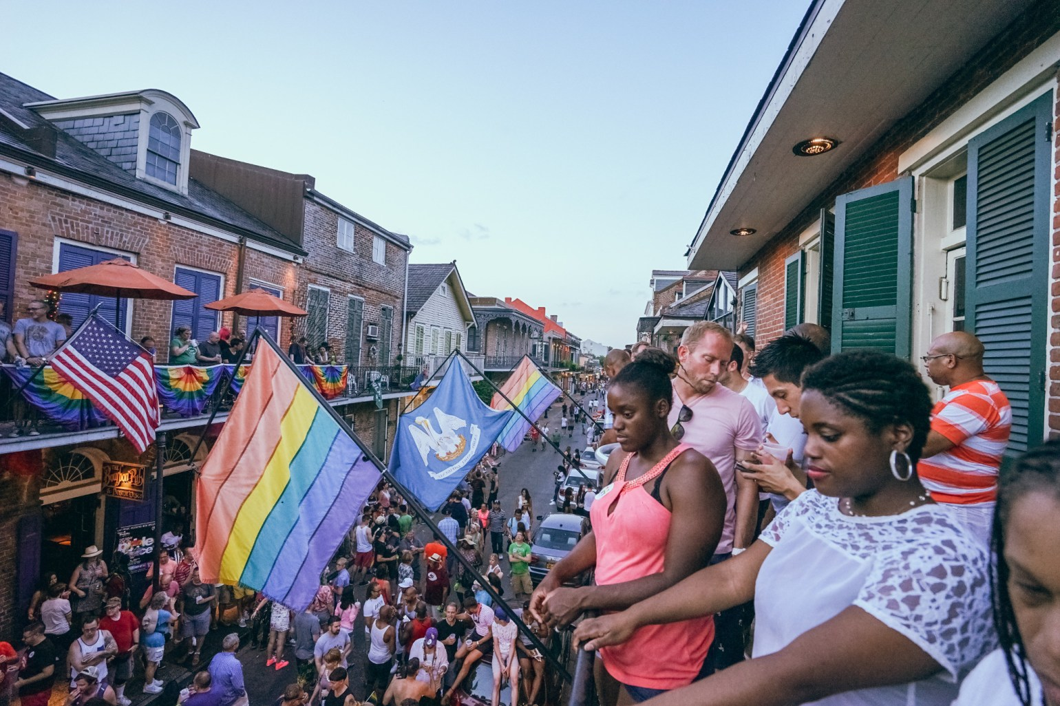 New Orleans Pride and Balconies